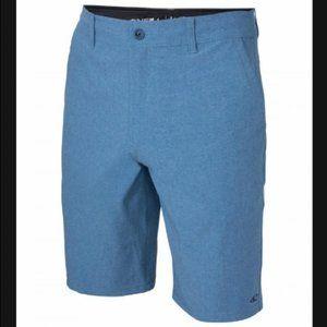 Men's O'Neil Hybrid Shorts Heathered Blue 34 #D06